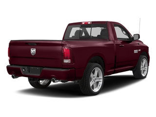 Delmonico Red Pearlcoat 2017 Ram Truck 1500 Pictures 1500 Night 4x2 Regular Cab 6'4 Box photos rear view
