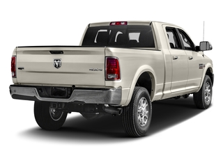 Pearl White 2017 Ram Truck 2500 Pictures 2500 Mega Cab Laramie 4WD photos rear view