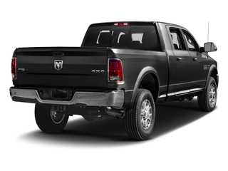 Brilliant Black Crystal Pearlcoat 2017 Ram Truck 2500 Pictures 2500 Mega Cab Laramie 4WD photos rear view