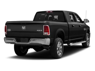 Brilliant Black Crystal Pearlcoat 2017 Ram Truck 2500 Pictures 2500 Mega Cab Limited 4WD photos rear view