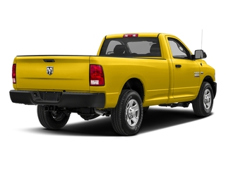 Yellow 2017 Ram Truck 2500 Pictures 2500 Regular Cab SLT 2WD photos rear view