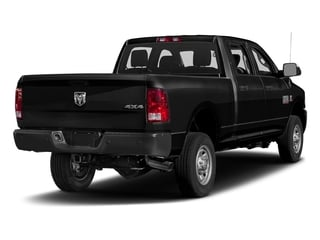 Brilliant Black Crystal Pearlcoat 2017 Ram Truck 2500 Pictures 2500 Crew Cab Tradesman 2WD photos rear view