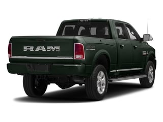 Black Forest Green Pearlcoat 2017 Ram Truck 2500 Pictures 2500 Crew Cab Longhorn 2WD photos rear view