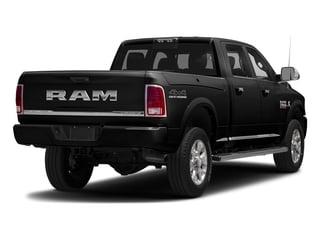 Brilliant Black Crystal Pearlcoat 2017 Ram Truck 2500 Pictures 2500 Laramie Longhorn 4x2 Crew Cab 8' Box photos rear view