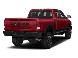 Flame Red Clearcoat 2017 Ram Truck 2500 Pictures 2500 Power Wagon 4x4 Crew Cab 6'4 Box photos rear view