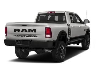 Bright Silver Metallic Clearcoat 2017 Ram Truck 2500 Pictures 2500 Power Wagon 4x4 Crew Cab 6'4 Box photos rear view