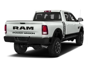Bright White Clearcoat 2017 Ram Truck 2500 Pictures 2500 Power Wagon 4x4 Crew Cab 6'4 Box photos rear view