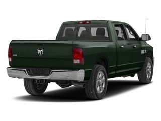 Black Forest Green Pearlcoat 2017 Ram Truck 2500 Pictures 2500 Crew Cab SLT 2WD photos rear view