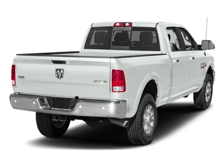 Bright White Clearcoat 2017 Ram Truck 2500 Pictures 2500 Crew Cab Laramie 2WD photos rear view