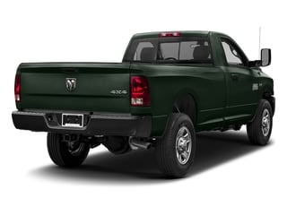 Black Forest Green Pearlcoat 2017 Ram Truck 3500 Pictures 3500 SLT 4x4 Reg Cab 8' Box photos rear view