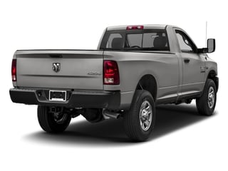Bright Silver Metallic Clearcoat 2017 Ram Truck 3500 Pictures 3500 Regular Cab SLT 4WD photos rear view