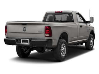 Bright Silver Metallic Clearcoat 2017 Ram Truck 3500 Pictures 3500 Regular Cab Tradesman 4WD photos rear view