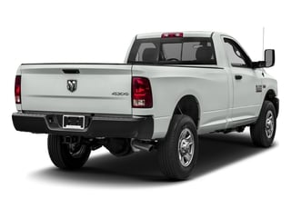 Bright White Clearcoat 2017 Ram Truck 3500 Pictures 3500 Regular Cab SLT 2WD photos rear view