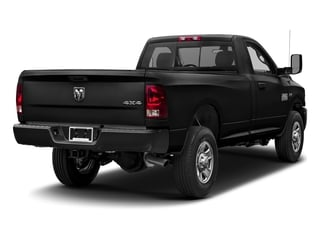 Black Clearcoat 2017 Ram Truck 3500 Pictures 3500 Regular Cab SLT 2WD photos rear view