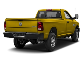 Detonator Yellow Clearcoat 2017 Ram Truck 3500 Pictures 3500 SLT 4x4 Reg Cab 8' Box photos rear view