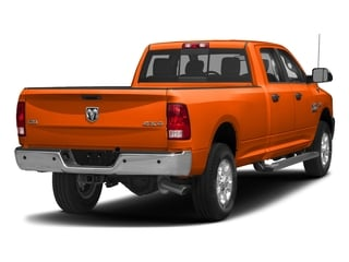 Omaha Orange 2017 Ram Truck 3500 Pictures 3500 Big Horn 4x2 Crew Cab 6'4 Box photos rear view