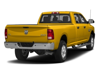 Yellow 2017 Ram Truck 3500 Pictures 3500 Crew Cab SLT 2WD photos rear view