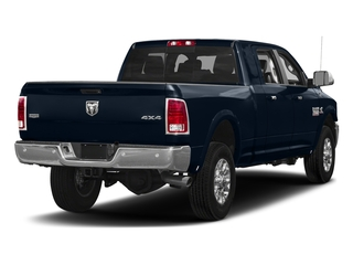 True Blue Pearlcoat 2017 Ram Truck 3500 Pictures 3500 Laramie Longhorn 4x2 Mega Cab 6'4 Box photos rear view