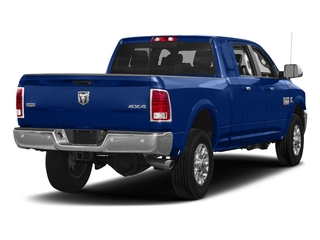 Blue Streak Pearlcoat 2017 Ram Truck 3500 Pictures 3500 Laramie 4x4 Mega Cab 6'4 Box photos rear view