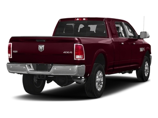 Delmonico Red Pearlcoat 2017 Ram Truck 3500 Pictures 3500 Laramie Longhorn 4x2 Mega Cab 6'4 Box photos rear view