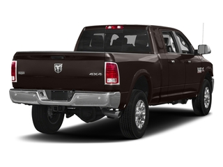 Luxury Brown Pearlcoat 2017 Ram Truck 3500 Pictures 3500 Laramie Longhorn 4x2 Mega Cab 6'4 Box photos rear view
