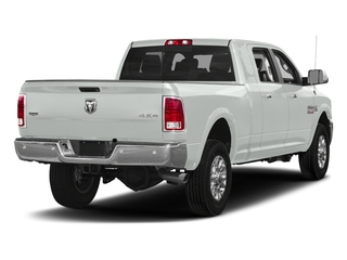 Bright White Clearcoat 2017 Ram Truck 3500 Pictures 3500 Mega Cab Longhorn 4WD photos rear view
