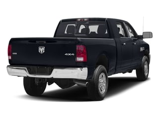 Midnight Blue Pearlcoat 2017 Ram Truck 3500 Pictures 3500 Mega Cab SLT 4WD photos rear view