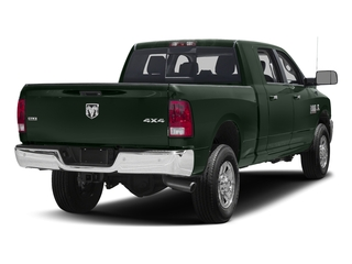 Black Forest Green Pearlcoat 2017 Ram Truck 3500 Pictures 3500 SLT 4x2 Mega Cab 6'4 Box photos rear view