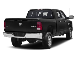 Brilliant Black Crystal Pearlcoat 2017 Ram Truck 3500 Pictures 3500 Mega Cab SLT 4WD photos rear view