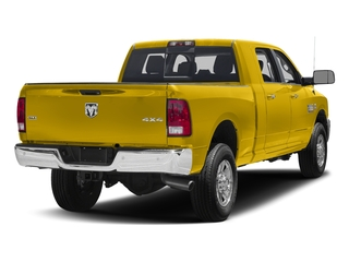 Detonator Yellow Clearcoat 2017 Ram Truck 3500 Pictures 3500 SLT 4x2 Mega Cab 6'4 Box photos rear view