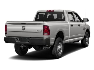 Bright Silver Metallic Clearcoat 2017 Ram Truck 3500 Pictures 3500 Crew Cab Tradesman 4WD photos rear view