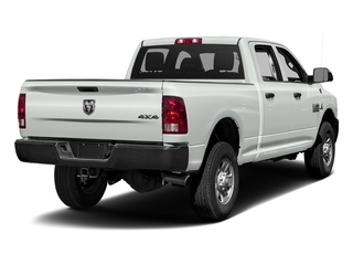 Bright White Clearcoat 2017 Ram Truck 3500 Pictures 3500 Crew Cab Tradesman 4WD photos rear view