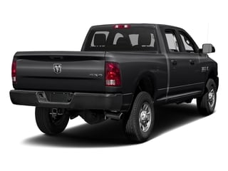 Black Clearcoat 2017 Ram Truck 3500 Pictures 3500 Crew Cab Tradesman 4WD photos rear view
