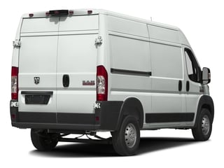Bright White Clearcoat 2017 Ram Truck ProMaster Cargo Van Pictures ProMaster Cargo Van 1500 High Roof 136 WB photos rear view