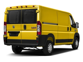 Broom Yellow Clearcoat 2017 Ram Truck ProMaster Cargo Van Pictures ProMaster Cargo Van 1500 Low Roof 136 WB photos rear view