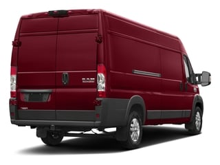 Deep Cherry Red Crystal Pearlcoat 2017 Ram Truck ProMaster Cargo Van Pictures ProMaster Cargo Van 3500 High Roof 159 WB EXT photos rear view