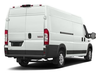 Bright White Clearcoat 2017 Ram Truck ProMaster Cargo Van Pictures ProMaster Cargo Van 3500 High Roof 159 WB EXT photos rear view