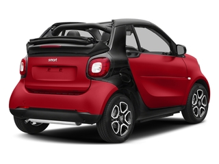 Red 2017 smart fortwo Pictures fortwo Convertible 2D Prime I3 Turbo photos rear view