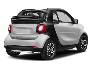 Cool Silver Metallic 2017 smart fortwo Pictures fortwo Convertible 2D Prime I3 Turbo photos rear view