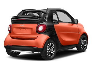 Lava Orange Metallic 2017 smart fortwo Pictures fortwo Convertible 2D Prime I3 Turbo photos rear view