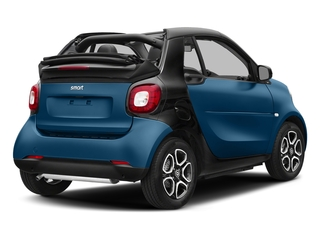 Midnight Blue Metallic 2017 smart fortwo Pictures fortwo Convertible 2D Prime I3 Turbo photos rear view