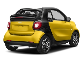 Black-to-Yellow Metallic 2017 smart fortwo Pictures fortwo Convertible 2D Prime I3 Turbo photos rear view