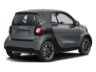 Titania Grey Matte 2017 smart fortwo Pictures fortwo Coupe 2D Pure I3 Turbo photos rear view