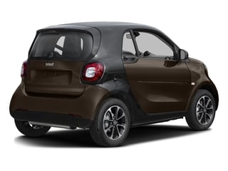 Hazel Brown Metallic 2017 smart fortwo Pictures fortwo Coupe 2D Pure I3 Turbo photos rear view