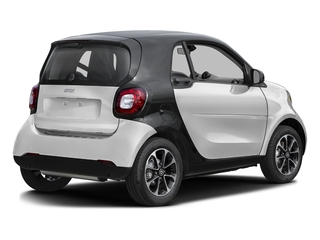 Cool Silver Metallic 2017 smart fortwo Pictures fortwo Coupe 2D Pure I3 Turbo photos rear view