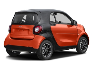 Lava Orange Metallic 2017 smart fortwo Pictures fortwo Coupe 2D Pure I3 Turbo photos rear view