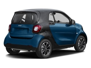Midnight Blue Metallic 2017 smart fortwo Pictures fortwo Coupe 2D Pure I3 Turbo photos rear view