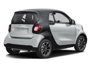 Moon White Matte 2017 smart fortwo Pictures fortwo Coupe 2D Pure I3 Turbo photos rear view