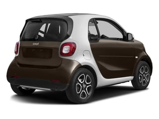 Hazel Brown Metallic 2017 smart fortwo Pictures fortwo Coupe 2D Proxy I3 Turbo photos rear view