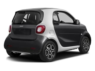 Black 2017 smart fortwo Pictures fortwo Coupe 2D Proxy I3 Turbo photos rear view